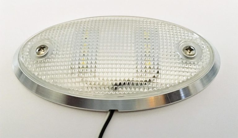 Dome Light Oval Billet Front