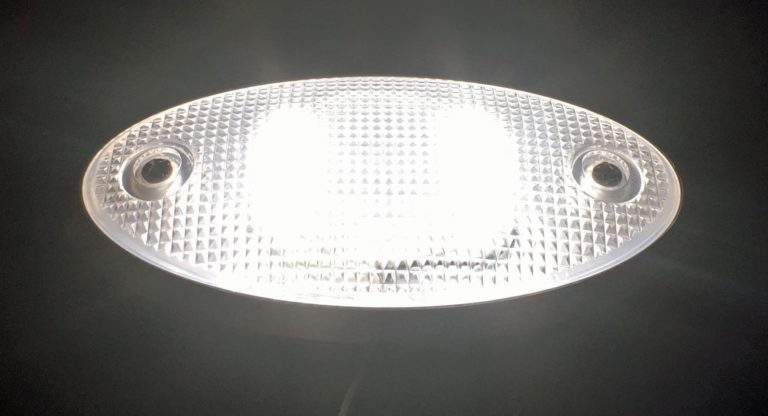 Oval Billet Dome Light