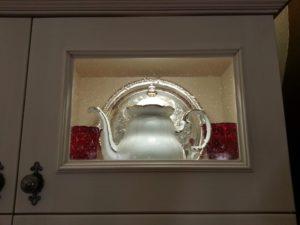 Traymark Small Glass Cabinet